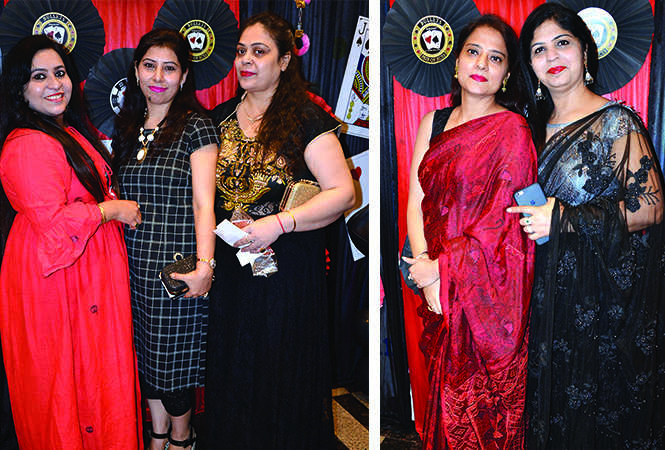 (L) Aaliya Arora, Vandana Chikker and Krishna Ahuja (R) Mini Arora and Neelu Saluja (BCCL/ IB Singh)