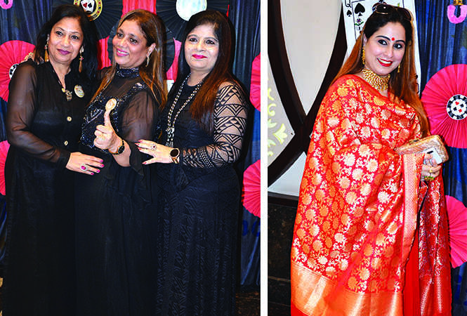 (L) Dolly Manga, Neelam Bagga and Savita Chawla (R) Karishma Khanuja (BCCL/ IB Singh)