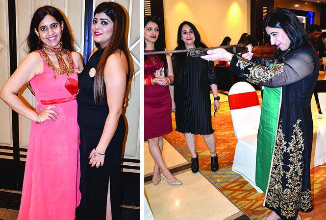 (L) Monika Arora and Simran Bagga (R) Kittu Singh (BCCL/ IB Singh)