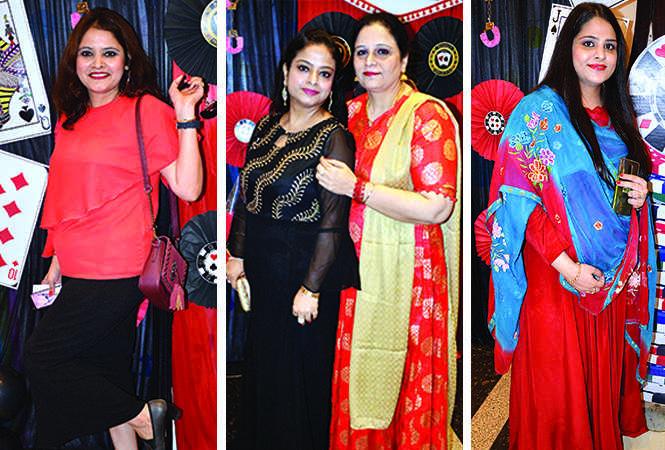 (L) Neeti Chawala (C) Preeti Nijhawan and Mini Arora (R) Rashi Bhatia (BCCL/ IB Singh)