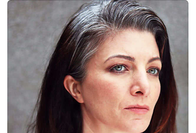 Many women, both young and old, are proudly  sharing pictures of their grey hair as part of a social media campaign, #Grombre