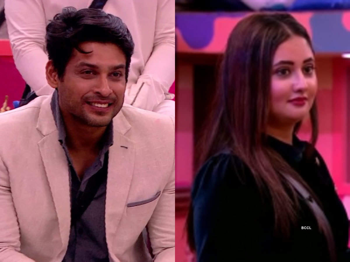 Image result for Rashami Desai to Siddharth Shukla on Bigg Boss 13