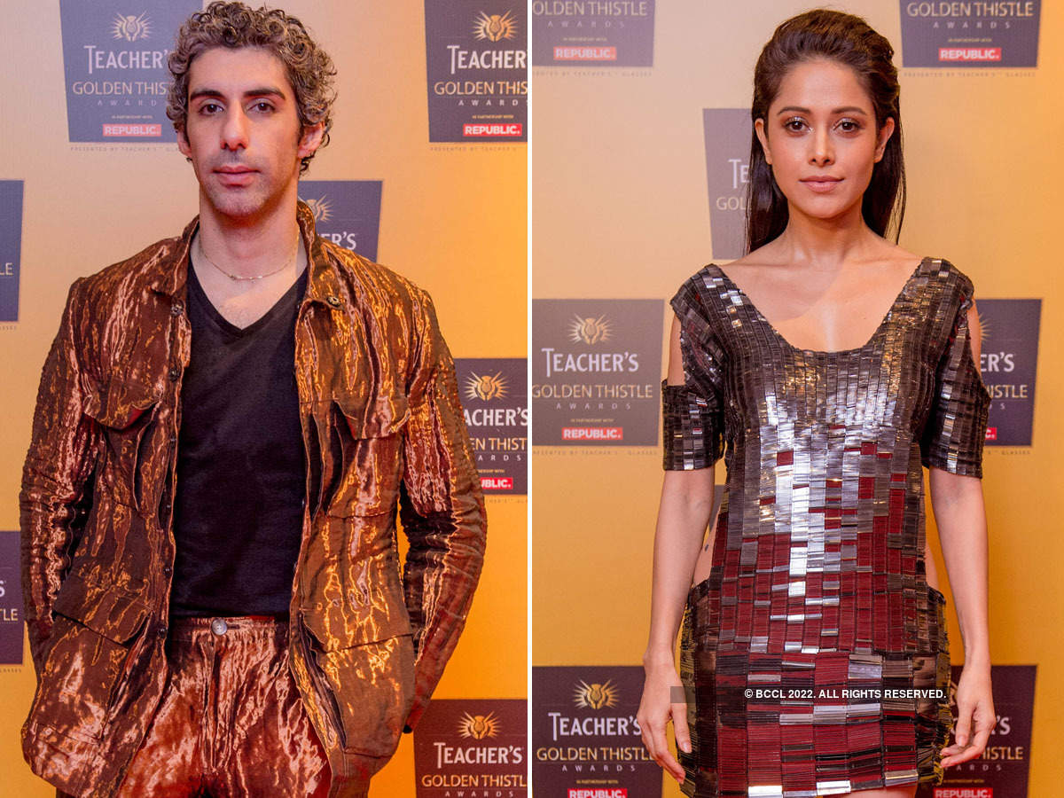 Jim Sarbh, Nushrat Bharucha and other celebs attend Teacher's Golden Thistle Awards 2019