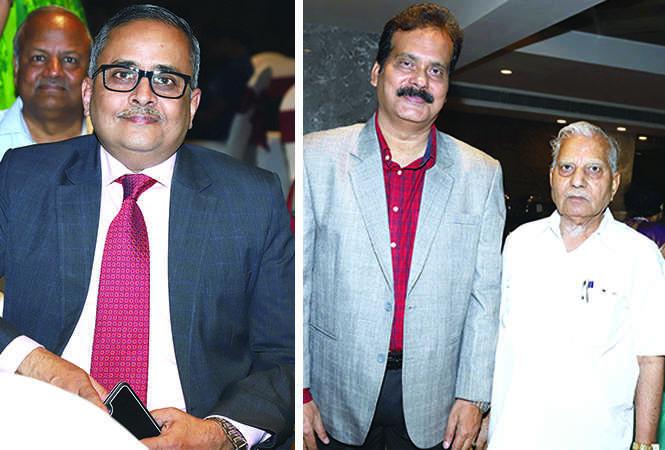 (L) Jayant Krishna (R) KL Satapathy and SC Sharma (BCCL/ Aditya Yadav)