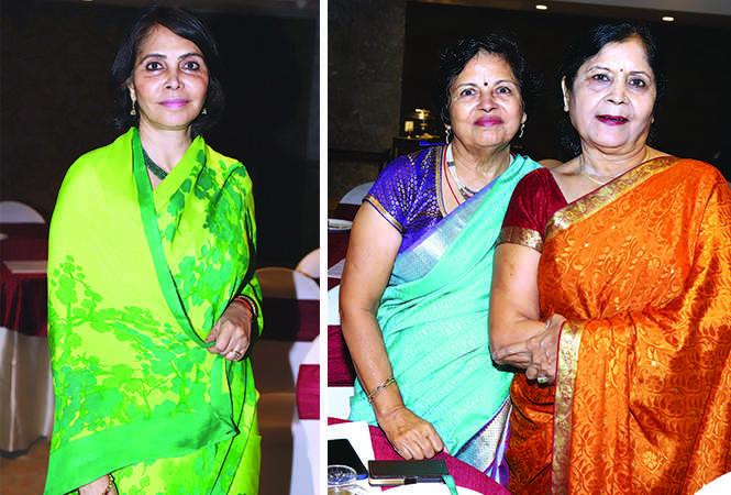 (L) Kanak Rekha Chauhan (R) Prem Lata Gulati and Rinoo Verma (BCCL/ Aditya Yadav)