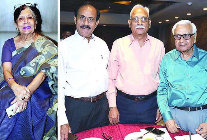 (L) Qamar Rahman (R) Rajeev Verma, GK Chaturvedi and NK Trivedi (BCCL/ Aditya Yadav)