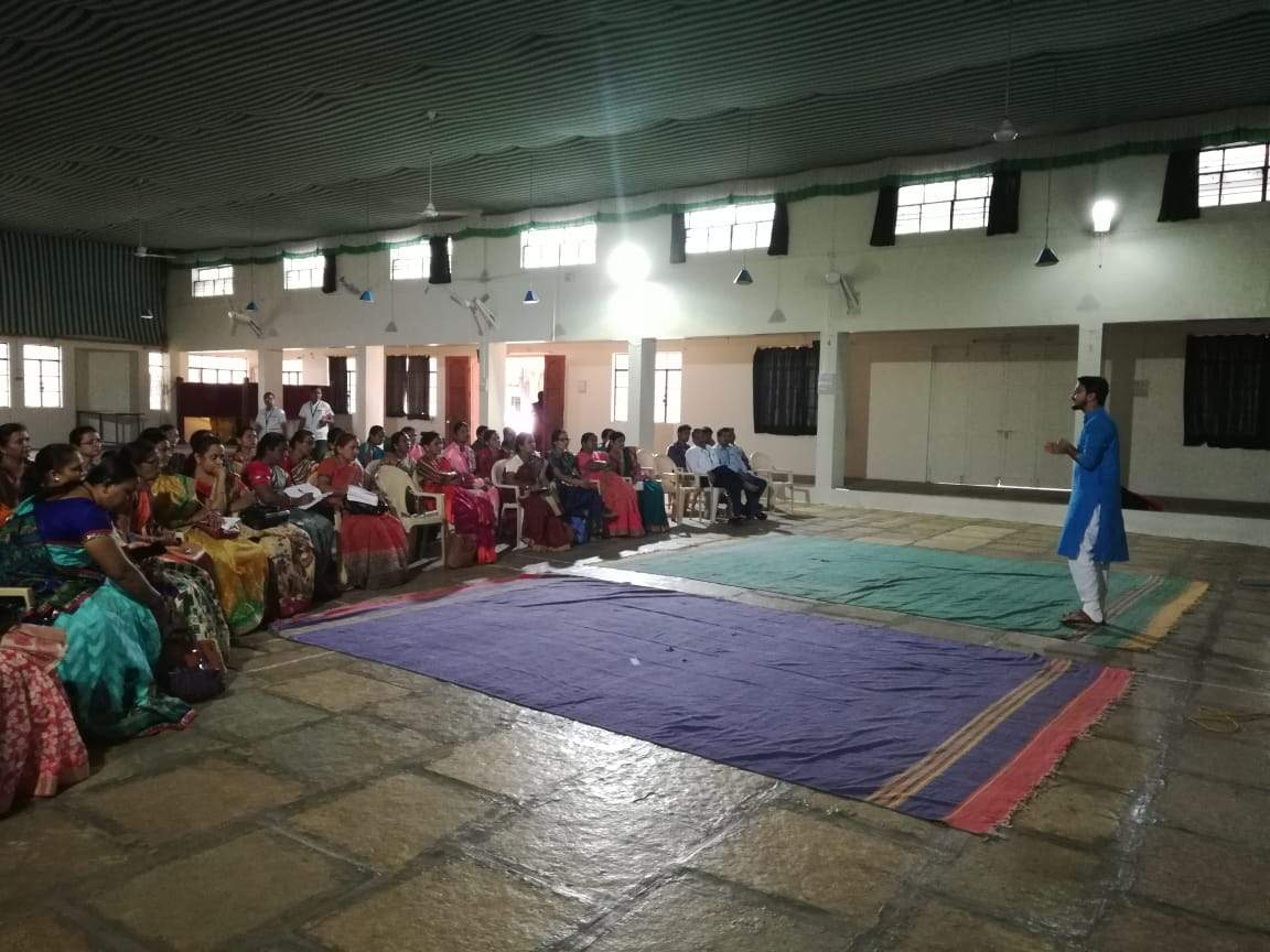Pravin Nikam conducted Training of Trainer (ToT) on Menstrual Hygiene and Reproductive Rights for Zilla Parishad Teachers