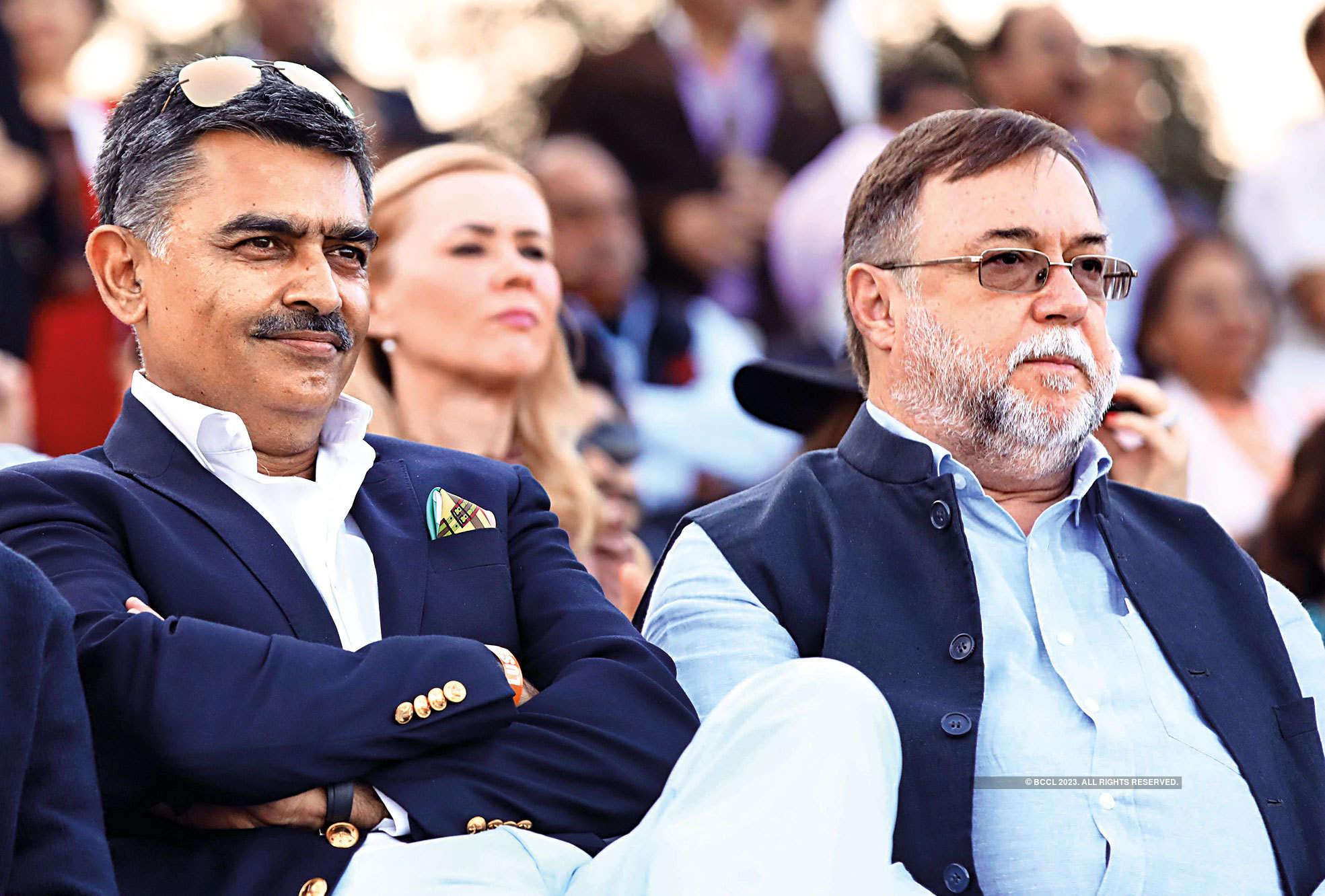 Adhiraj Singh and Daniel Chuburu,  Ambassador of Argentina