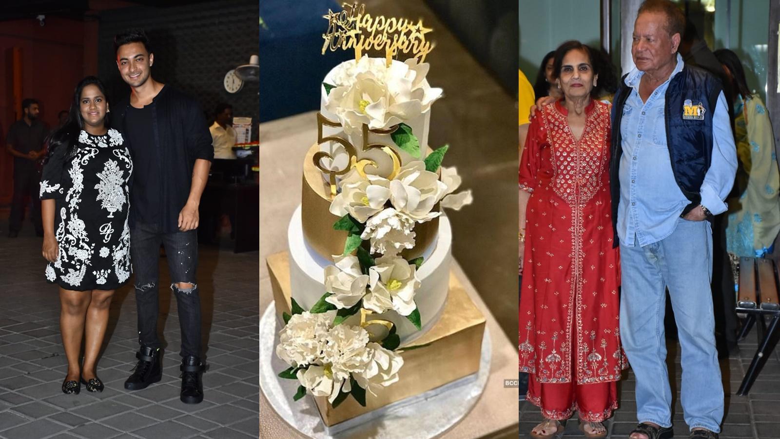 Aayush Sharma and Arpita Khan's wedding anniversary party: Katrina Kaif, Salman Khan, and other celebs attend the bash