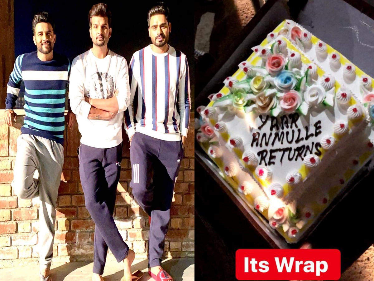 Yaar Anmulle Returns: It's a wrap for the Yuvraj Hans, Harish Verma and Prabh Gill starrer