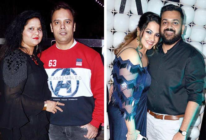 (L) Nidhi and Sandeep Jain (R) Parul and Deep Verma (BCCL/ IB Singh)