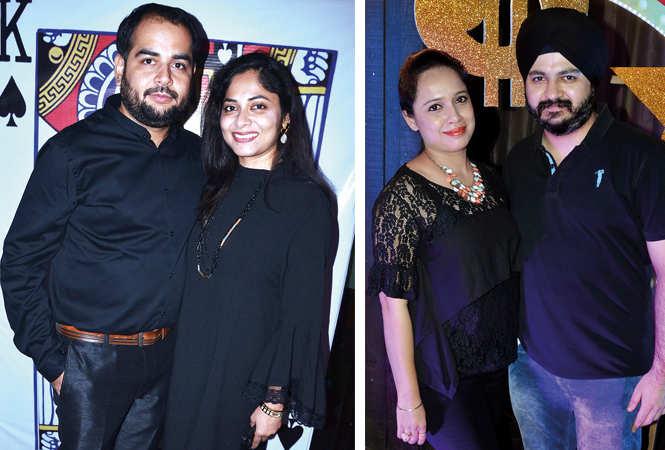 (L) Kartik and Kratika Gambhir (R) Manpreet  Kaur and  Sarabjeet Singh (BCCL/ IB Singh)