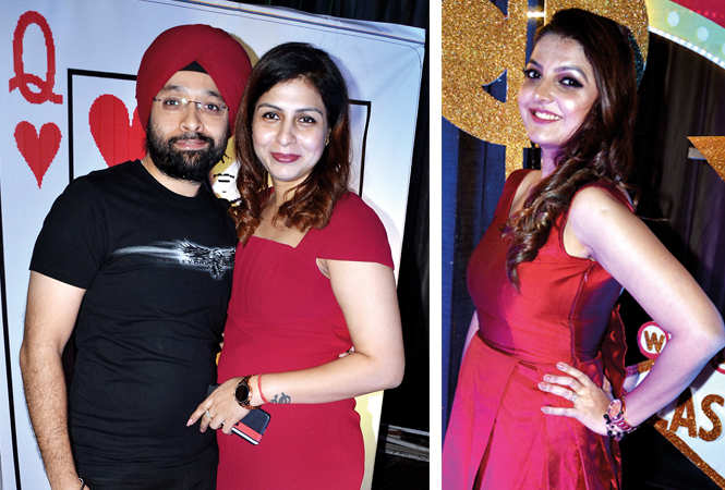 (L) Chaman and Sneha Narang (R) Shruti Chandak (BCCL/ IB Singh)