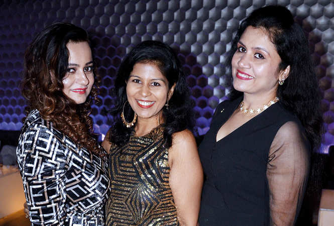 Harsha Talwar, Anshu Jain and Mini (BCCL/ IB Singh)