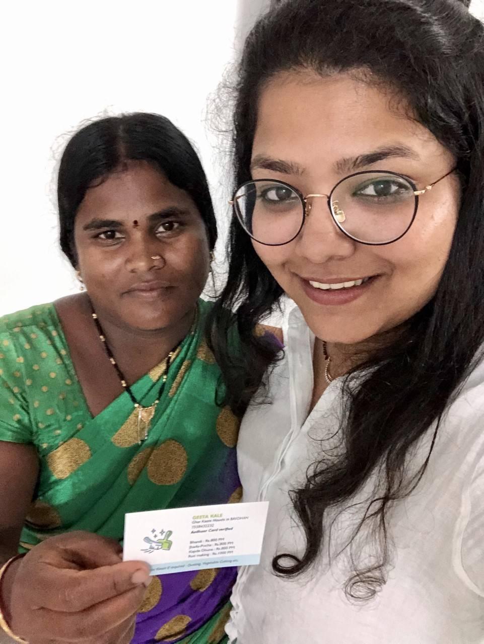 Geeta Maushi and Dhanashree Shinde