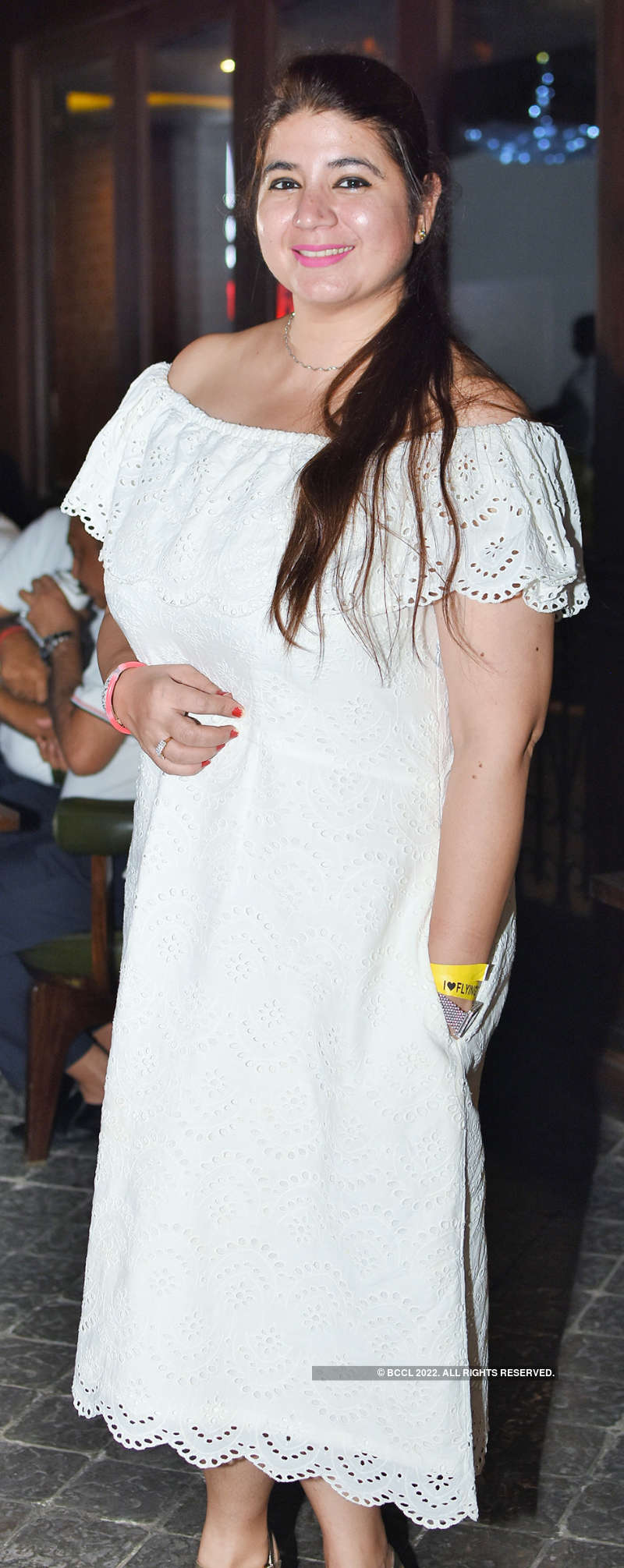 Lucknowites enjoy at an all-white theme party