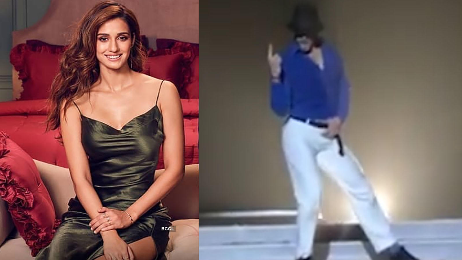 Disha Patani is in awe of rumoured beau Tiger Shroff's MJ dance moves, here's proof