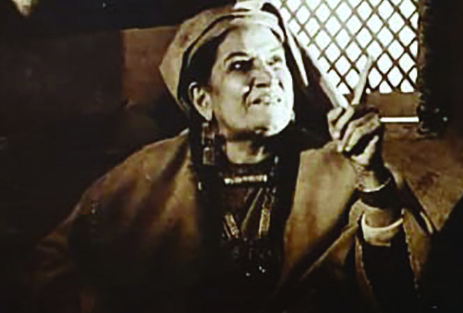 Shaukat Kaifi in Ali's film Zooni, that never got released (BCCL)