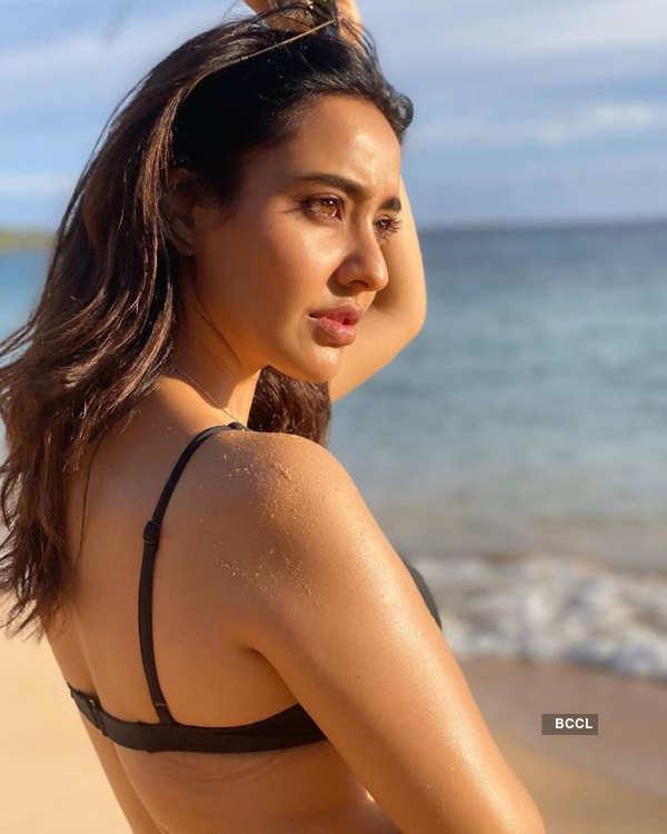 Actress Neha Sharma enjoys 'me time' on Makena Beach in Hawaii