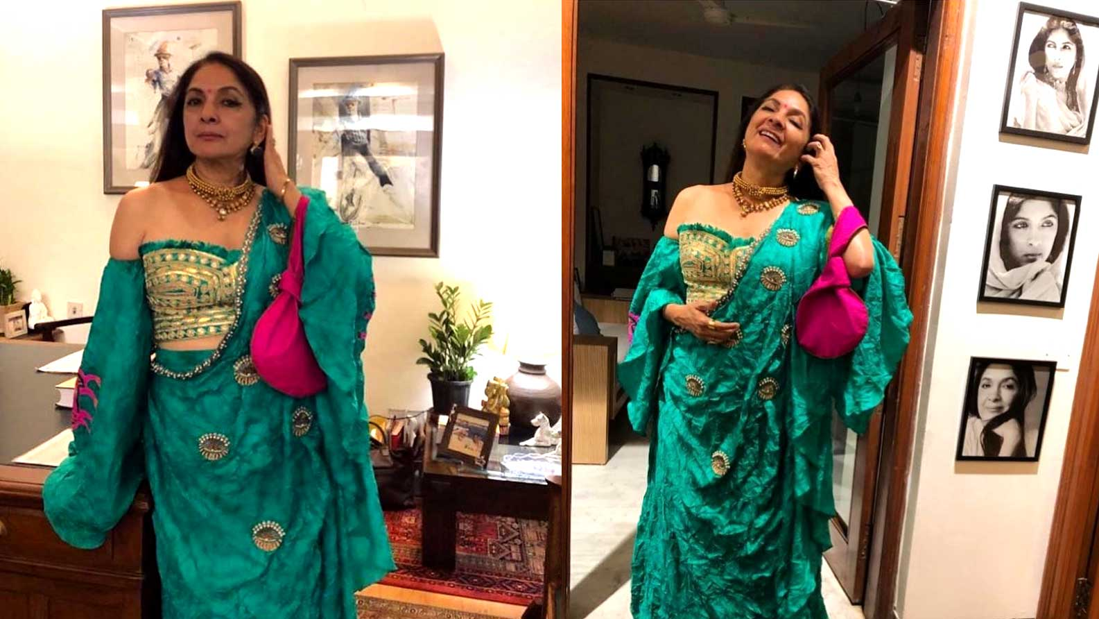 Neena Gupta makes heads turn in yet another gorgeous ensemble