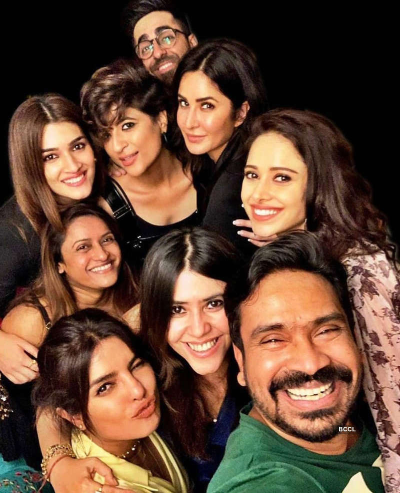 Party pictures of Priyanka Chopra, Katrina Kaif & Ayushmann Khurrana you simply can't give a miss!