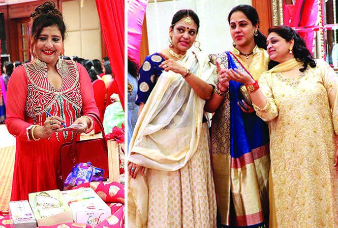 (L) Deepa Gupta (R) Anju Bajpai, Pallavi Agrawal and Ruchika Agrawal (BCCL/ Unmesh Pandey)