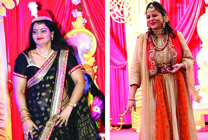 (L) Manju Singh (R) Gauri Kedia (BCCL/ Unmesh Pandey)