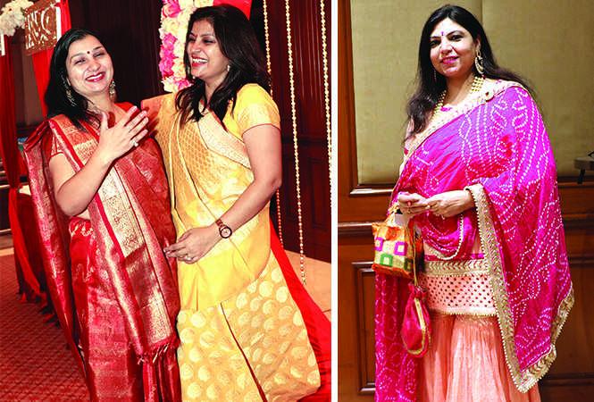 (L) Ritu Pathak and Sugandha Srivastav (R) Ruhi Dewan (BCCL/ Unmesh Pandey)