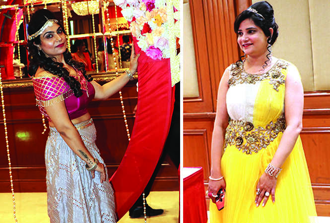 (L) Sonia Sachdeva (R) Stuti Wahi (BCCL/ Unmesh Pandey)