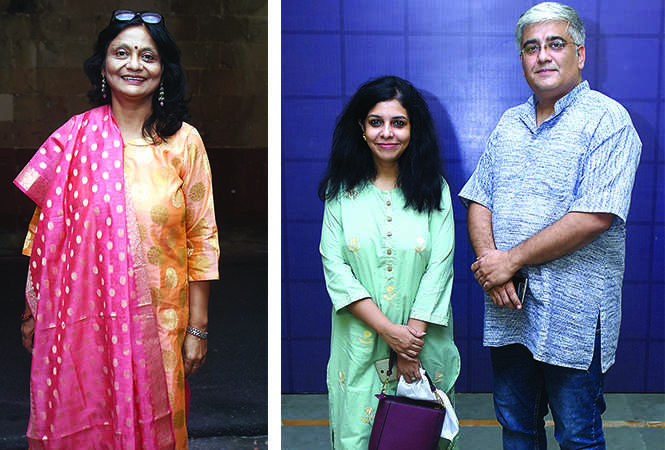 (L) Amita Kaushiva (R) Roli Singh and Dr Puneet Wadhwani (BCCL/ Vishnu Jaiswal)