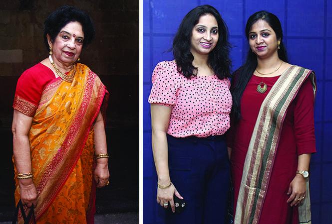 (L) Padma Gidwani (R) Smita Gupta and Kirti Gupta (BCCL/ Vishnu Jaiswal)