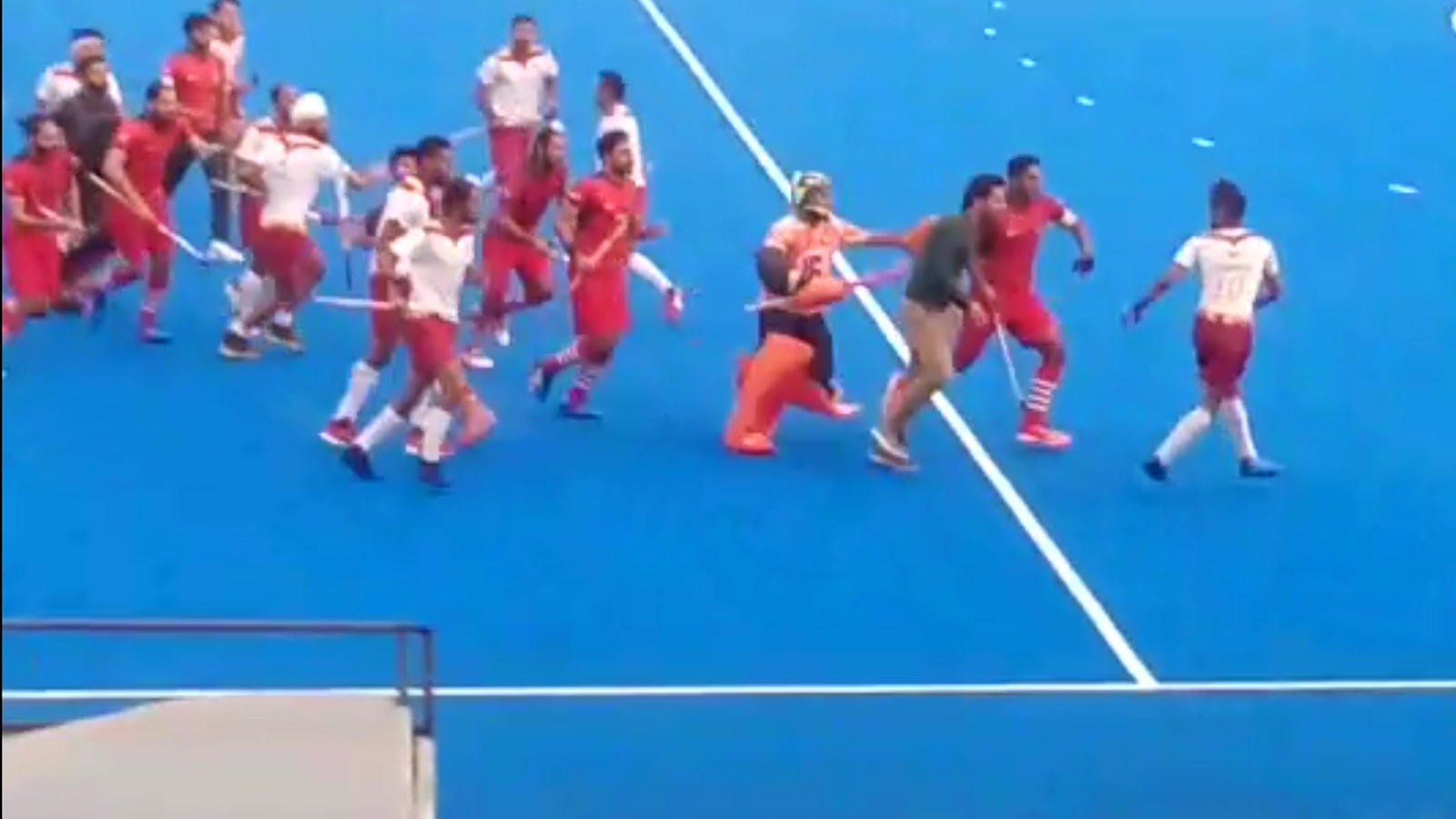 Nehru Cup: Punjab Police take Indian Hockey to a new low