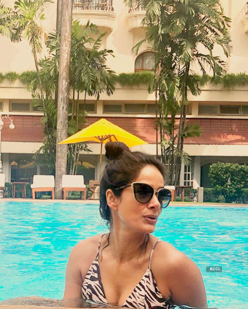'Chak De! India' actress Vidya Malavade is raising temperatures with her vacation pictures
