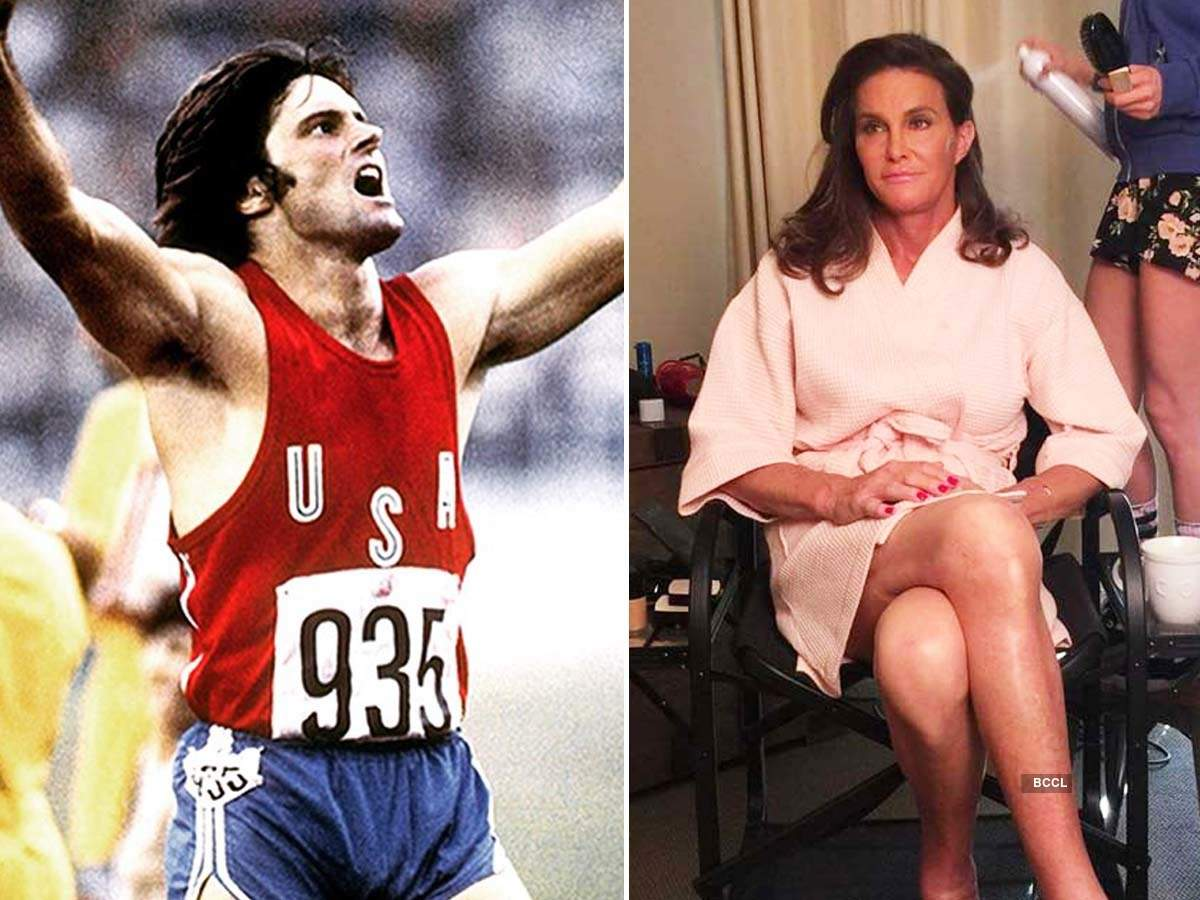 Stunning pictures of Bruce Jenner's transformation into Caitlyn Jenner