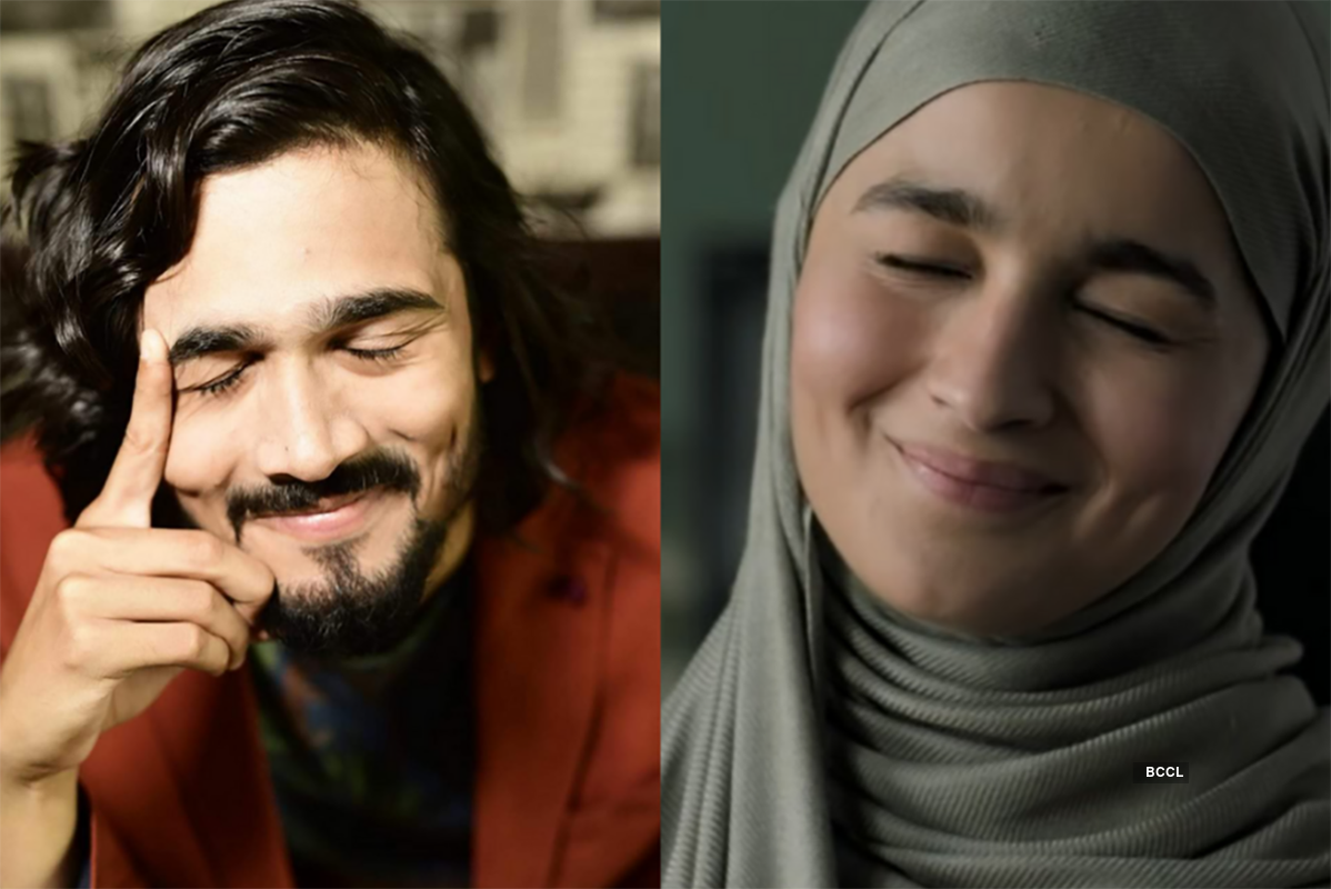 Pictures of Alia Bhatt's lookalike & famous YouTuber Bhuvan Bam are breaking the internet