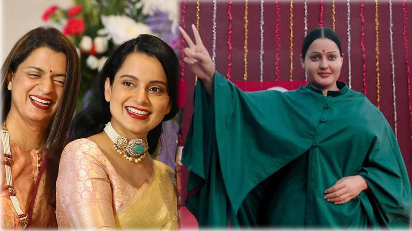 Kangana Ranaut's sister Rangoli Chandel defends actress' 'Thalaivi' look, slams netizens for trolling her