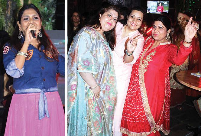 (L) Anu Malhotra (R) Arti, Payal and Akta (BCCL/ Arvind Kumar)