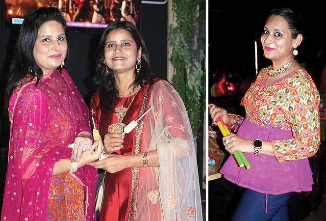 (L) Bhavna and Sardha (R) Manisha (BCCL/ Arvind Kumar)
