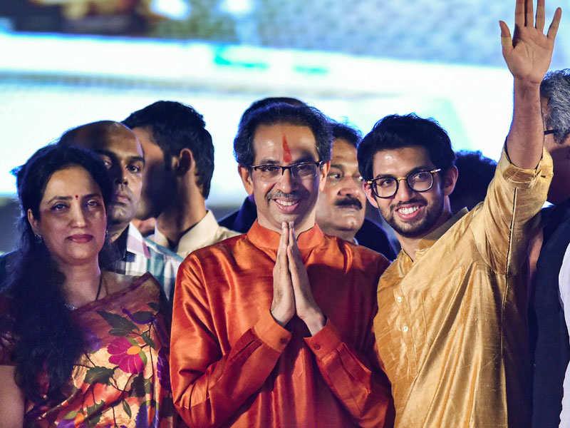 Image result for mukesh ambani in Uddhav Thackeray's swearing in ceremony