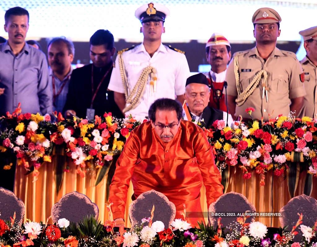 Uddhav Thackeray takes oath as Maharashtra CM
