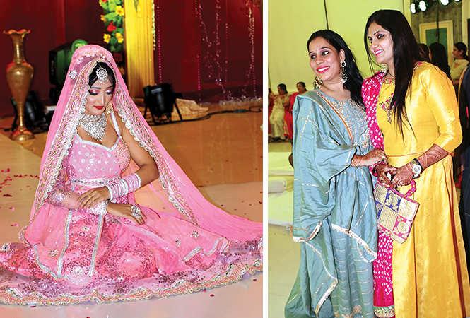 (L) Sonia (R) Bably Sachdeva and Shalini Arora (BCCL/ Unmesh Pandey)