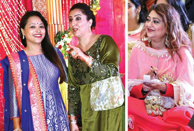 (L) Shilpam Khanna and Pari Beri (R) Reena Peshwani (BCCL/ Unmesh Pandey)