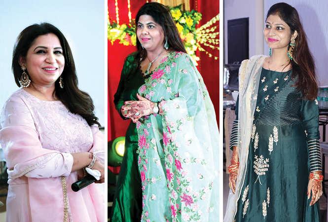 (L) Dr Shweta Chakravarty (C) Ekta Kapoor (R) Arambika Barman (BCCL/ Unmesh Pandey)