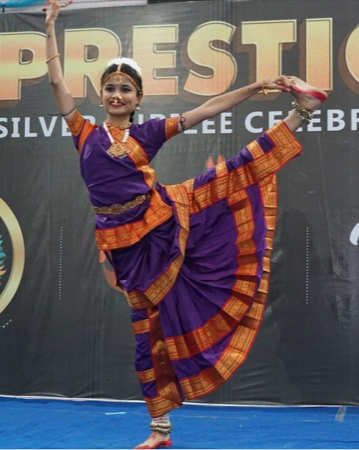 Solo dance competition manthan