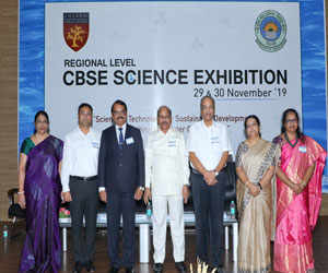 More than 300 students participate in CBSE science exhibition in Chennai