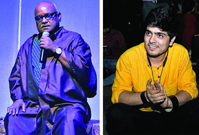 (L) Tariq Khan (R) Amit Sharma (BCCL/ Farhan Ahmad Siddiqui)