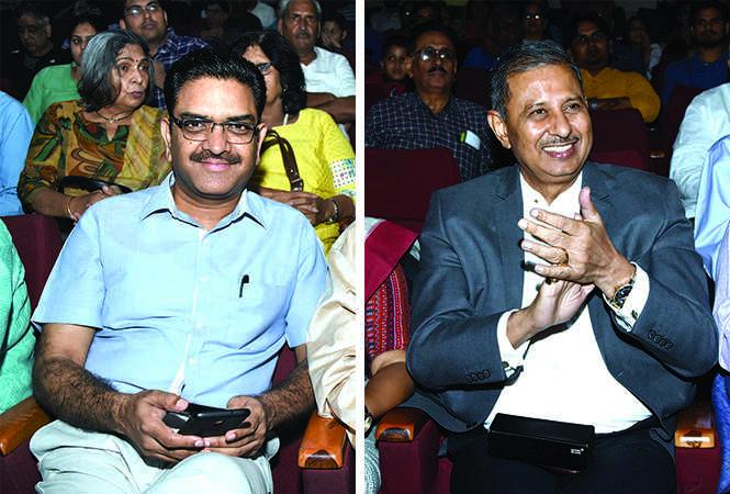 (L) Asim Arun (R) DK Singh (BCCL/ Farhan Ahmad Siddiqui)