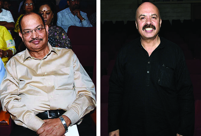 (L) Pramod Kumar Tewari (R) Prof Danish Iqbal (BCCL/ Farhan Ahmad Siddiqui)