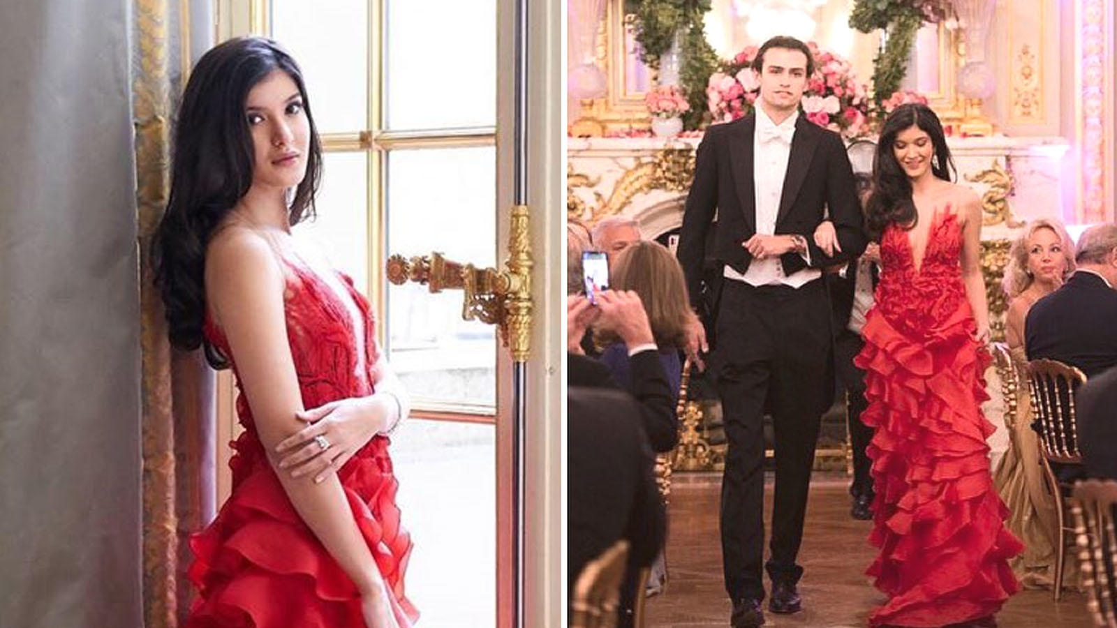 Shanaya Kapoor makes grand debut at le Bal des Débutantes and parents Sanjay Kapoor and Maheep Kapoor just can't keep calm