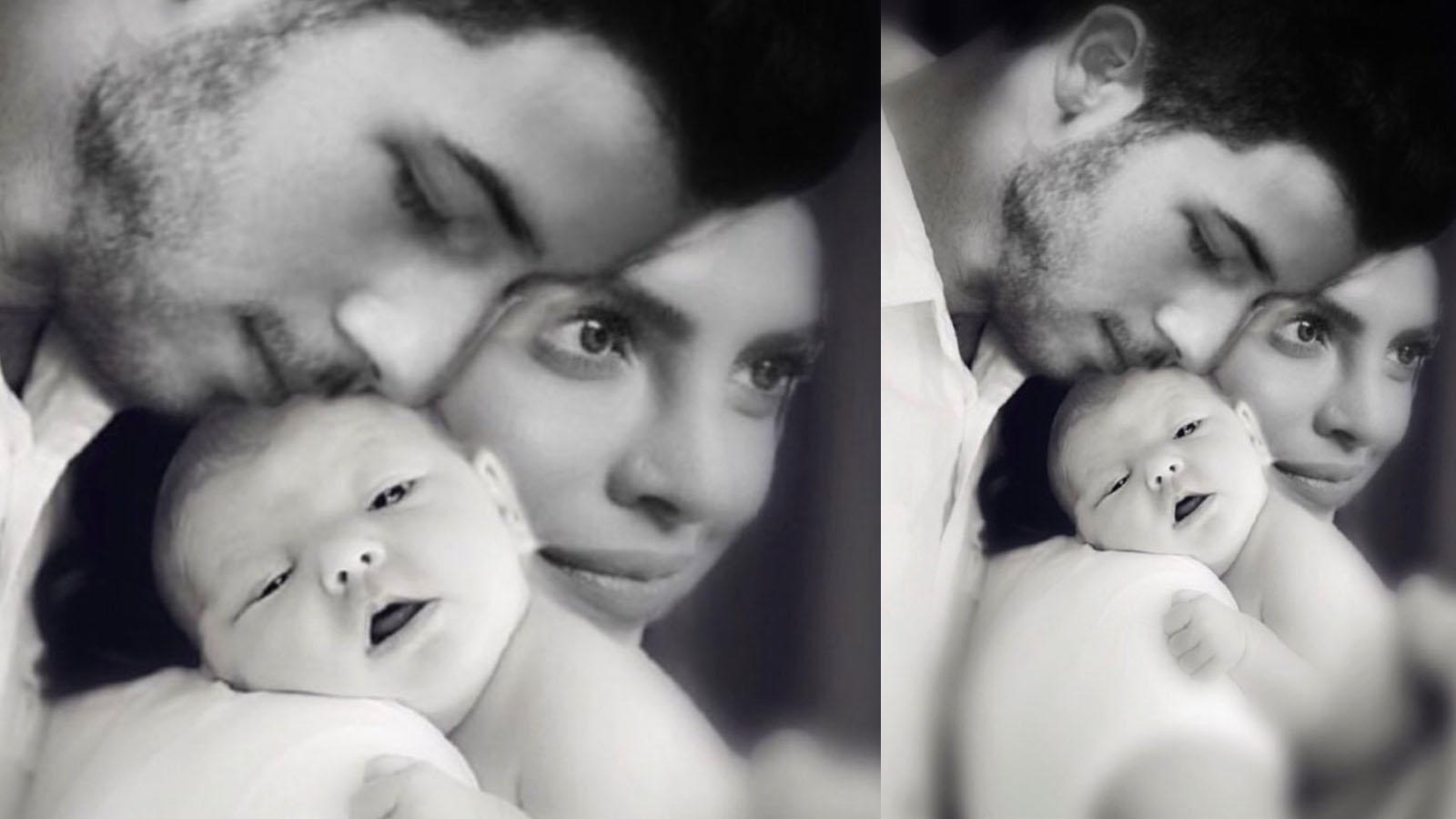 Fan wishes Priyanka Chopra and Nick Jonas on their wedding anniversary with a photoshopped pic of them holding a baby